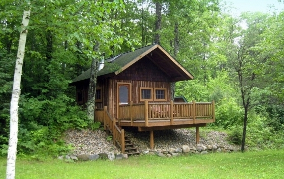 Wisconsin Log Cabin Hunting Land For Sale